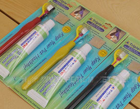 牙刷泡壳包装